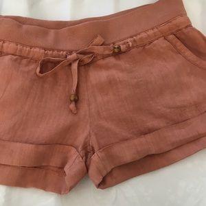 Guess Linen Shorts